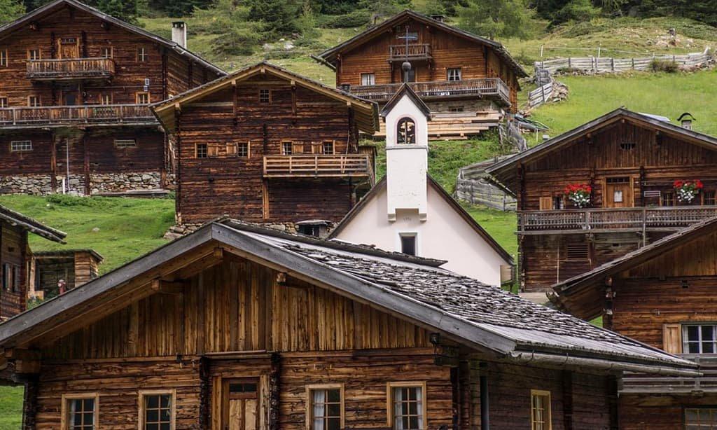 Innervillgraten nel Tirolo Orientale